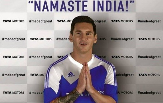 Lionel Messi named global brand ambassador for Tata Motors