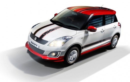 Maruti-Swift-Glory-Edition-front-quarter-press-shots